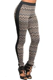 Adore Clothes & More Zig Zag Leggings - Product Mini Image