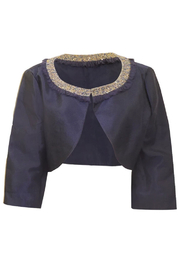 Adriana Papell Satin Shrug - Product Mini Image