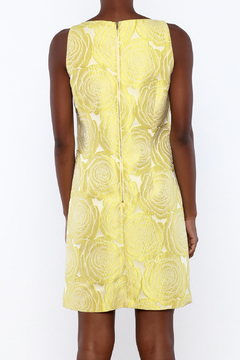 Adrianna Papell Yellow Beaded Dress - Alternate List Image