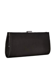 Adrianna Papell Black Stacee Clutch - Side cropped