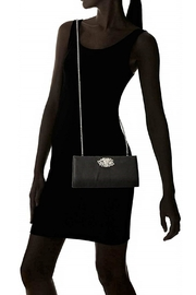 Adrianna Papell Black Stacee Clutch - Other