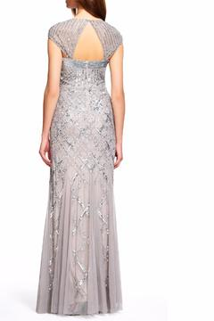 Shoptiques Product: Capsleeve Beaded Gown
