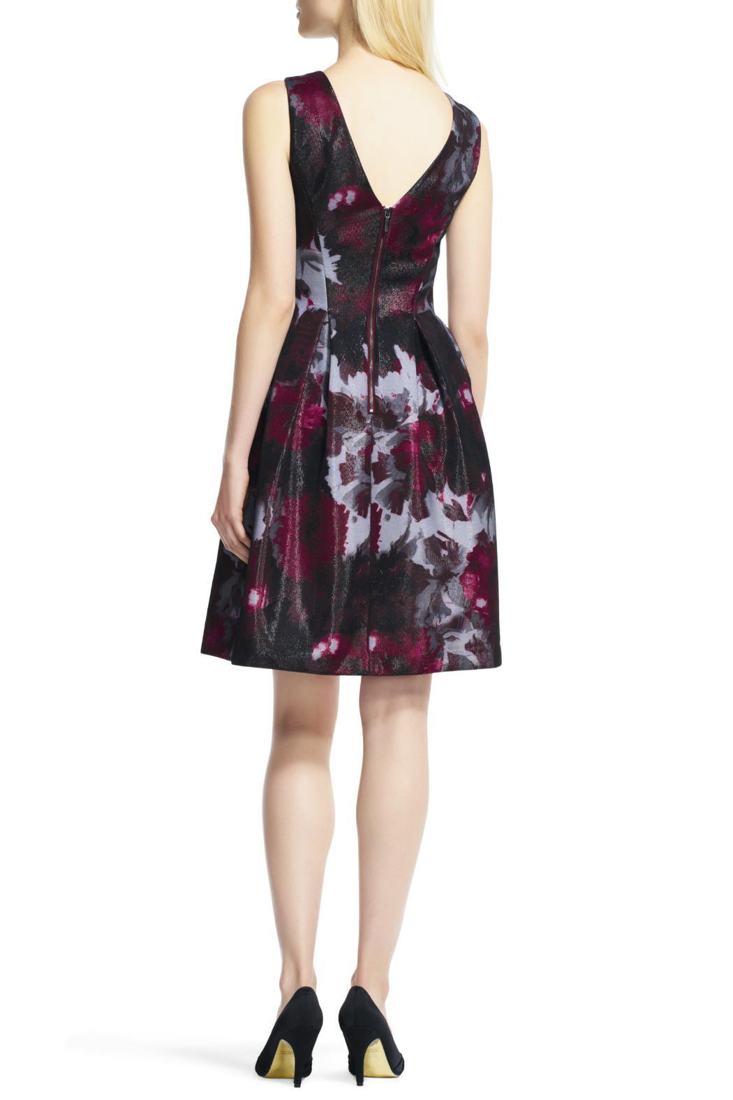 Adrianna Papell Fit & Flare Dress - Front Full Image