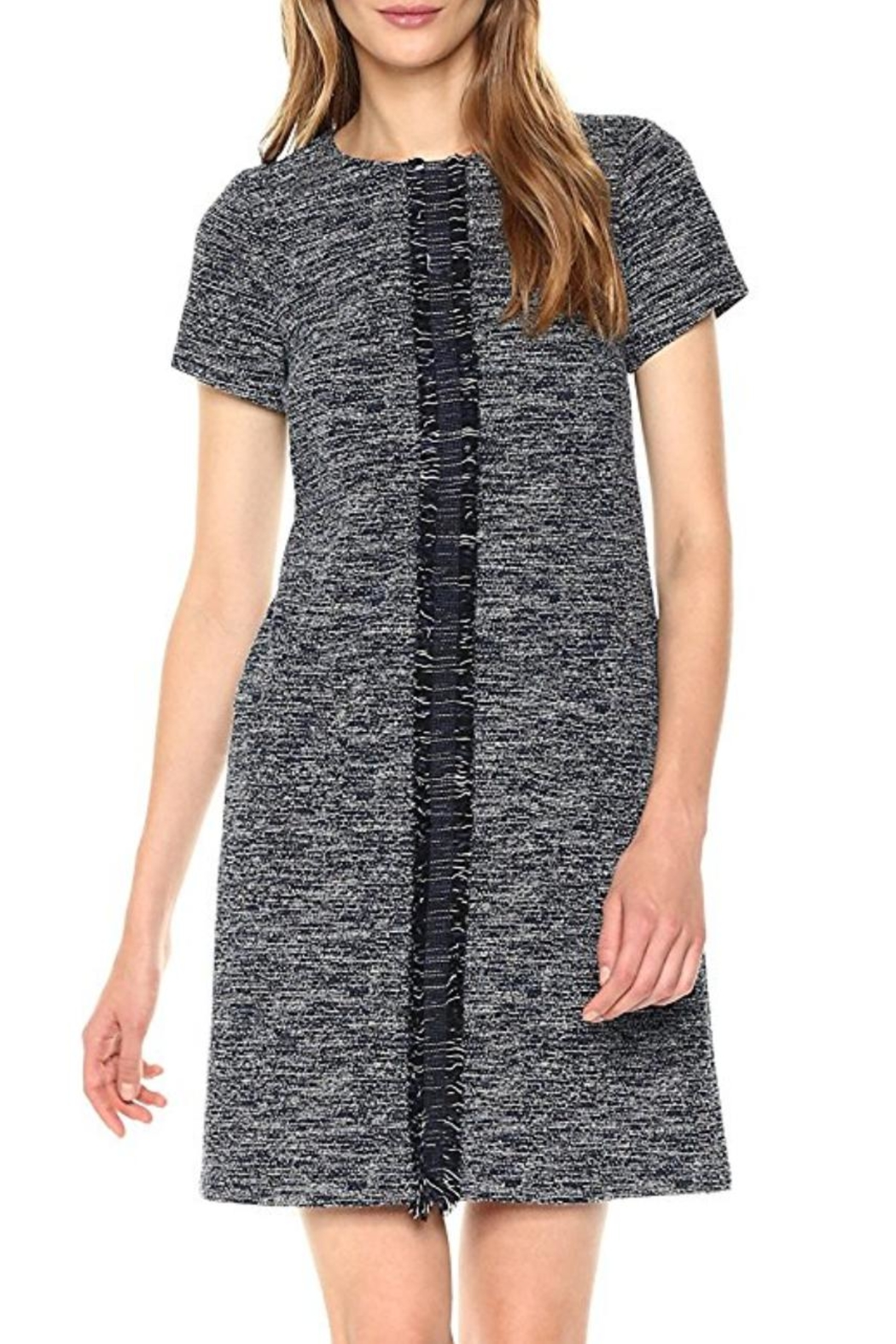 Adrianna Papell Knit Tweed Shift - Main Image