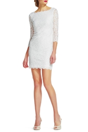 Adrianna Papell Lace Dress - Product Mini Image