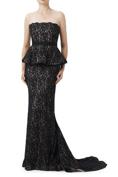 Adrianna Papell Lace Fitted Gown - Alternate List Image
