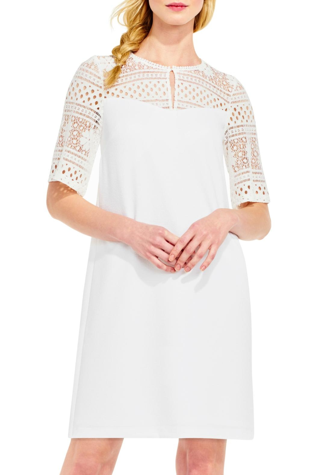 Adrianna Papell Lace Top Dress - Main Image