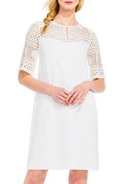 Adrianna Papell Lace Top Dress - Alternate List Image