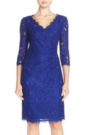 Adrianna Papell Lace Wrapped Dress - Product Mini Image