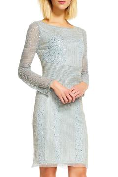 Shoptiques Product: Long Sleeves Beaded Dress