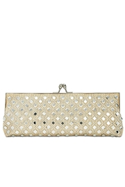 Adrianna Papell Nicola Mirrored Clutch - Front cropped
