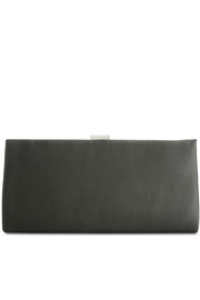 Adrianna Papell Norah Black-Beaded Clutch - Front full body