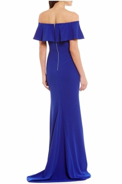 Adrianna Papell Off-The-Shoulder Ruffled Gown - Alternate List Image