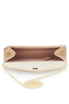 Adrianna Papell Seta Latte Clutch - Alternate List Image