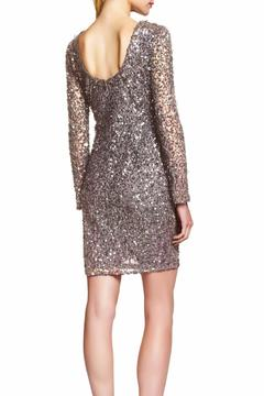 Shoptiques Product: Sleeved Sequin Dress