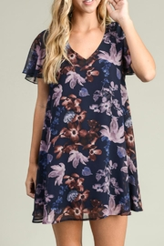 Adrienne Floral Babydoll Dress - Product Mini Image