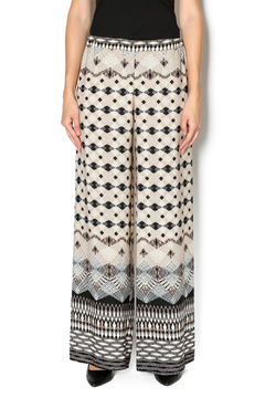 Adrienne Taupe Tribal Pants - Product List Image