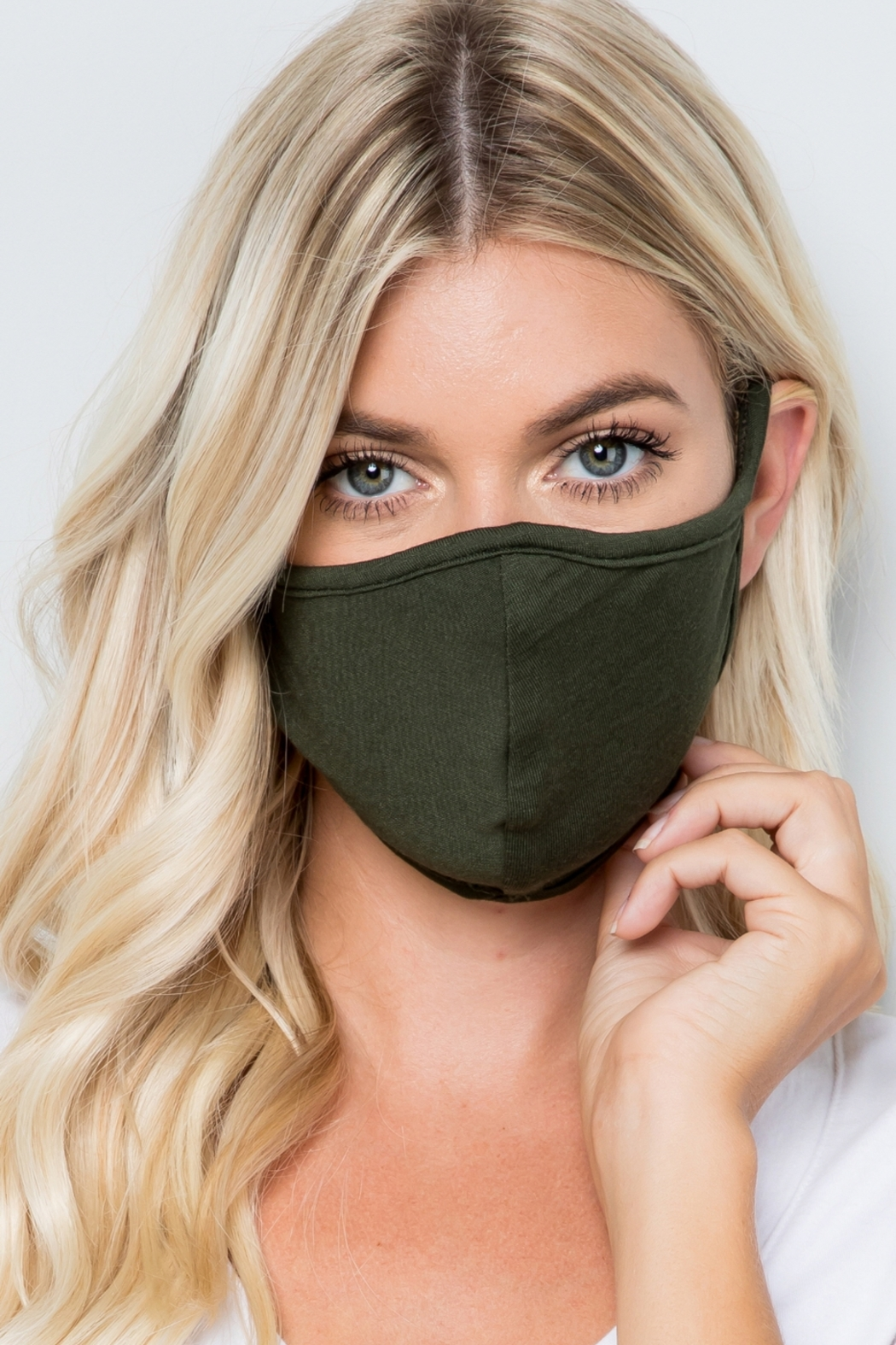 Lyn-Maree's  Adult Mask, Washable, USA - Front Cropped Image