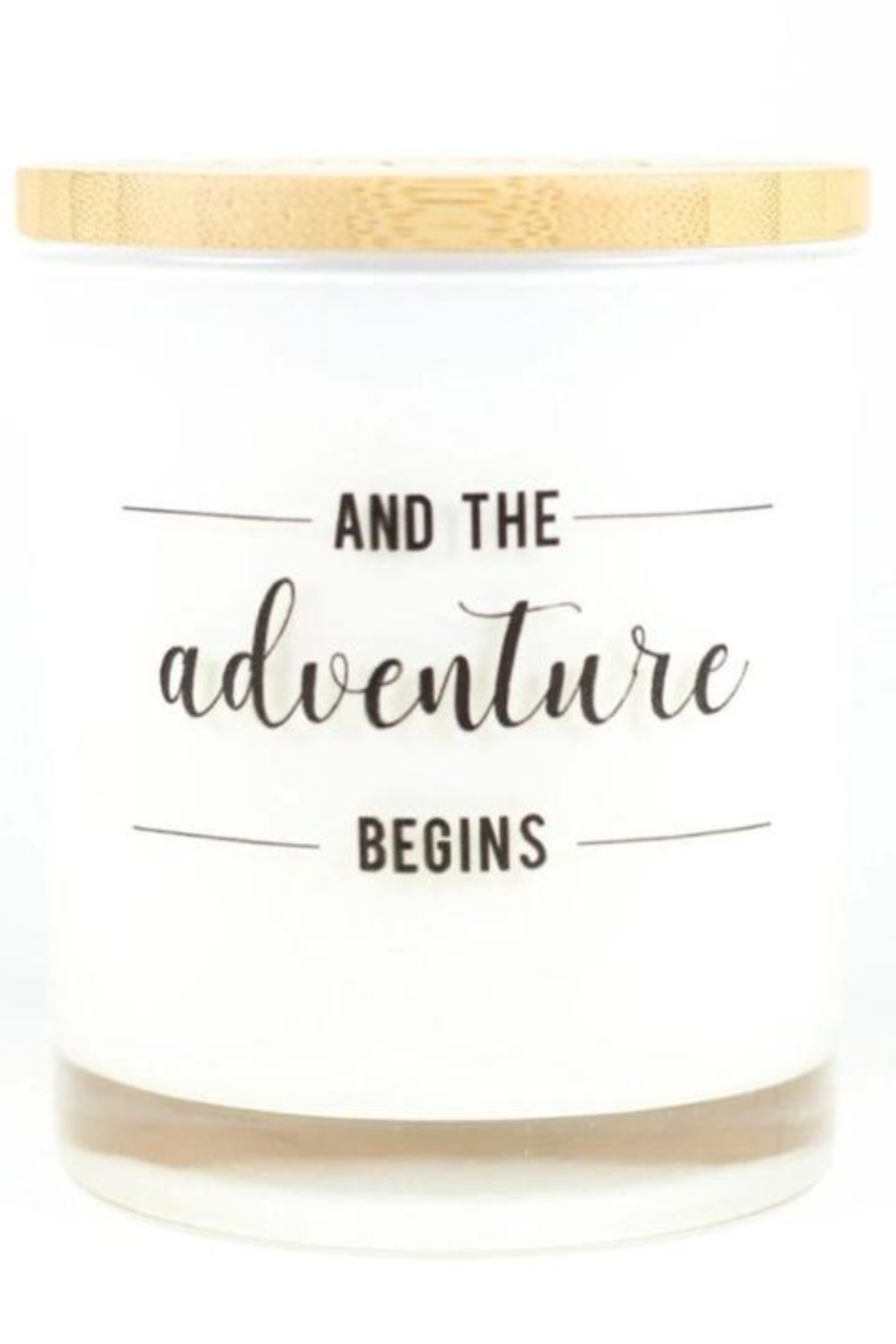 Unplug Soy Candles Adventure Begins Soy Candle - Main Image