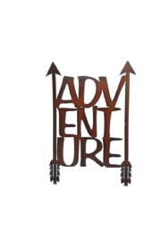 Rustic Ironwerks Adventure Sign - Product Mini Image