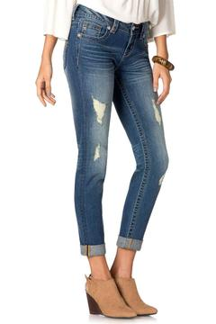 Shoptiques Product: Cuffed Ankle Skinnies