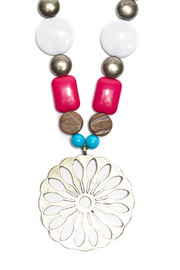 Creative Treasures Summer Beads Necklace - Product Mini Image