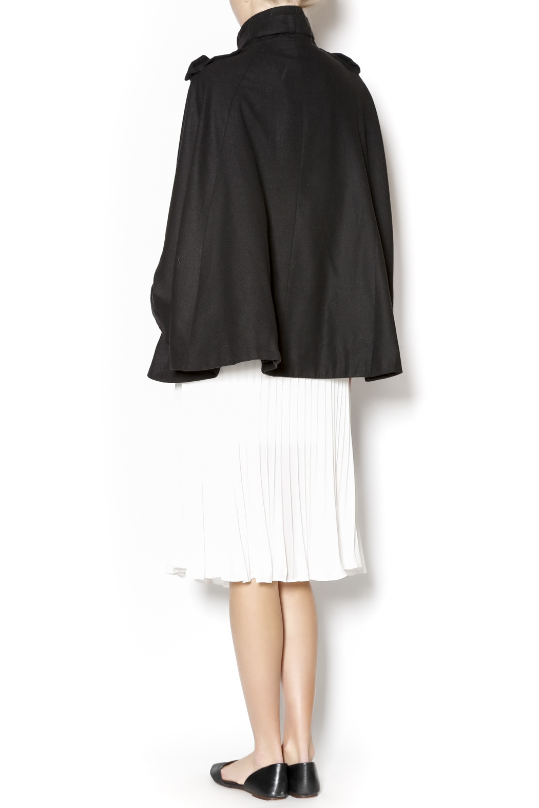 Cecico Military Style Cape - Side Cropped Image