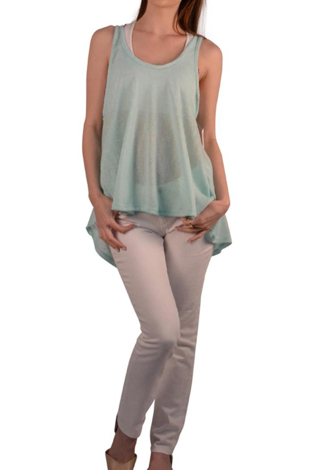 ppla clothing mint tank from lafayette by brothers on