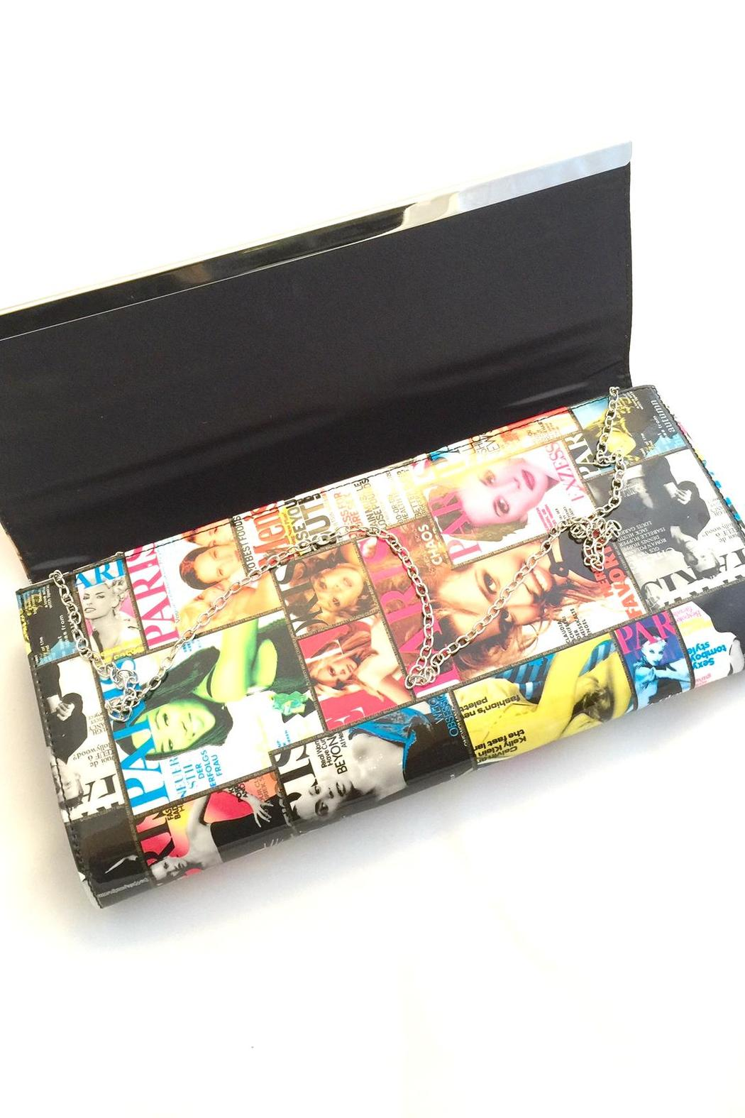 Bling Bling Sisters Magazine Purse - Front Full Image
