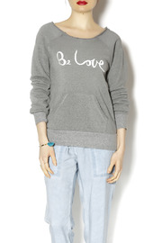 Be Love Eco Fleece Pullover - Product Mini Image