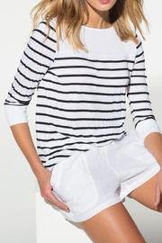 Three Dots Striped Top - Product Mini Image