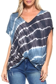 Imagine That Aegean Sea Top - Front cropped