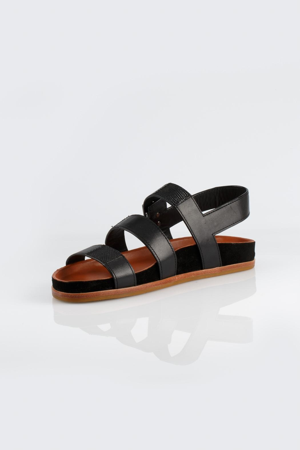 Aerin Addie Calf Sandals - Front Cropped Image