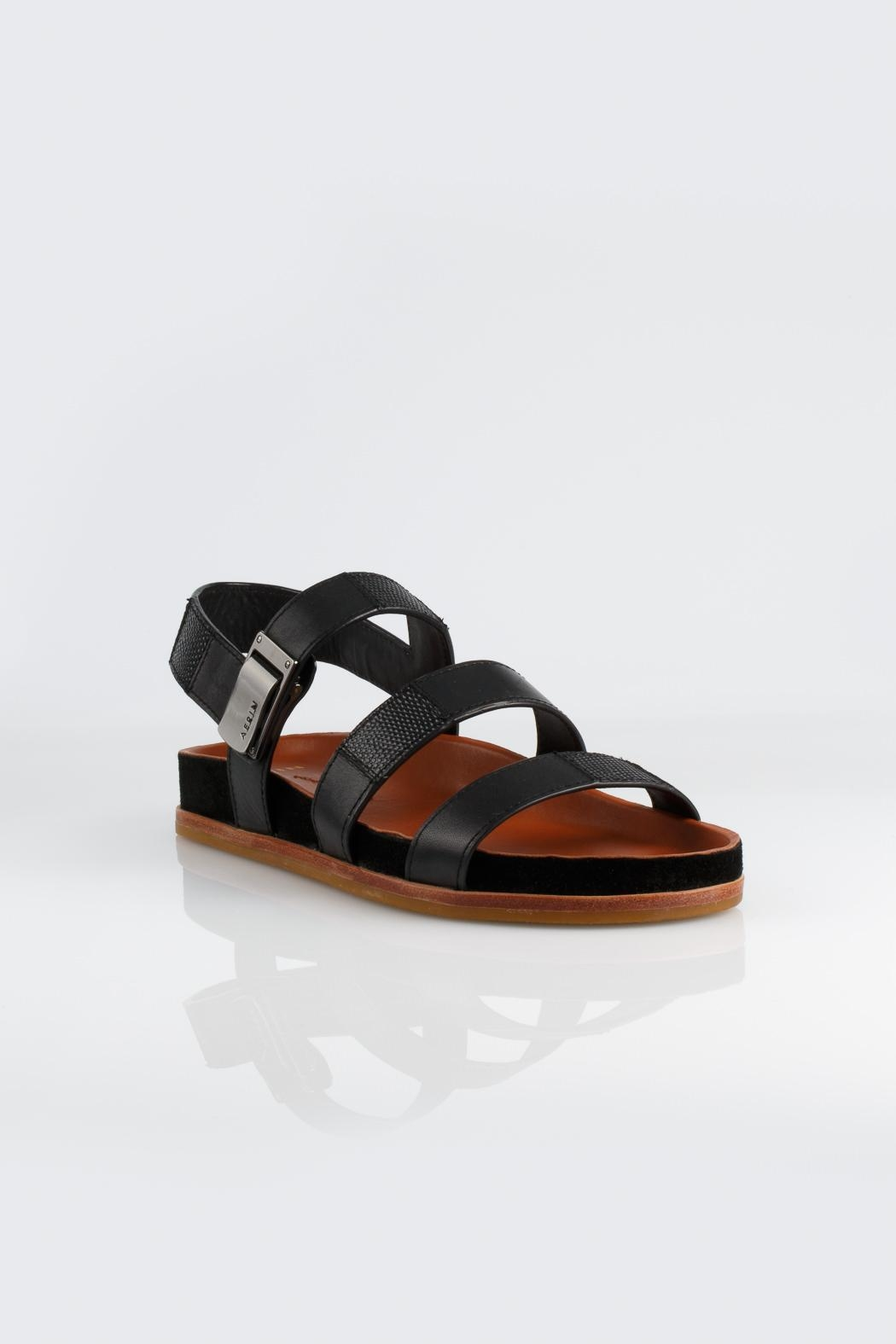 Aerin Addie Calf Sandals - Side Cropped Image