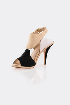 Shoptiques Product: Two Tone Suede Heels