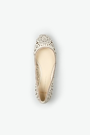 Aerin Ivory Flats - Back cropped