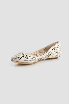 Aerin Ivory Flats - Product List Image