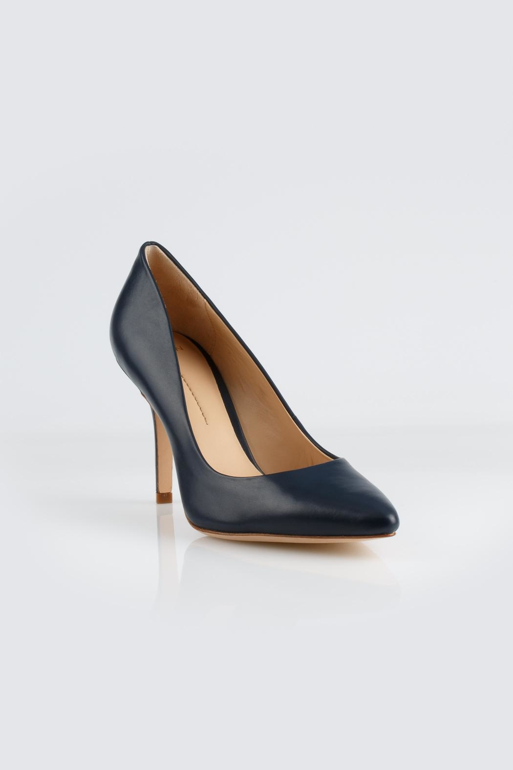 Aerin Navy Heel - Side Cropped Image