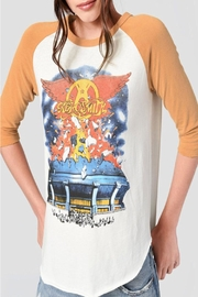Junk Food Clothing Aerosmith Raglan - Product Mini Image