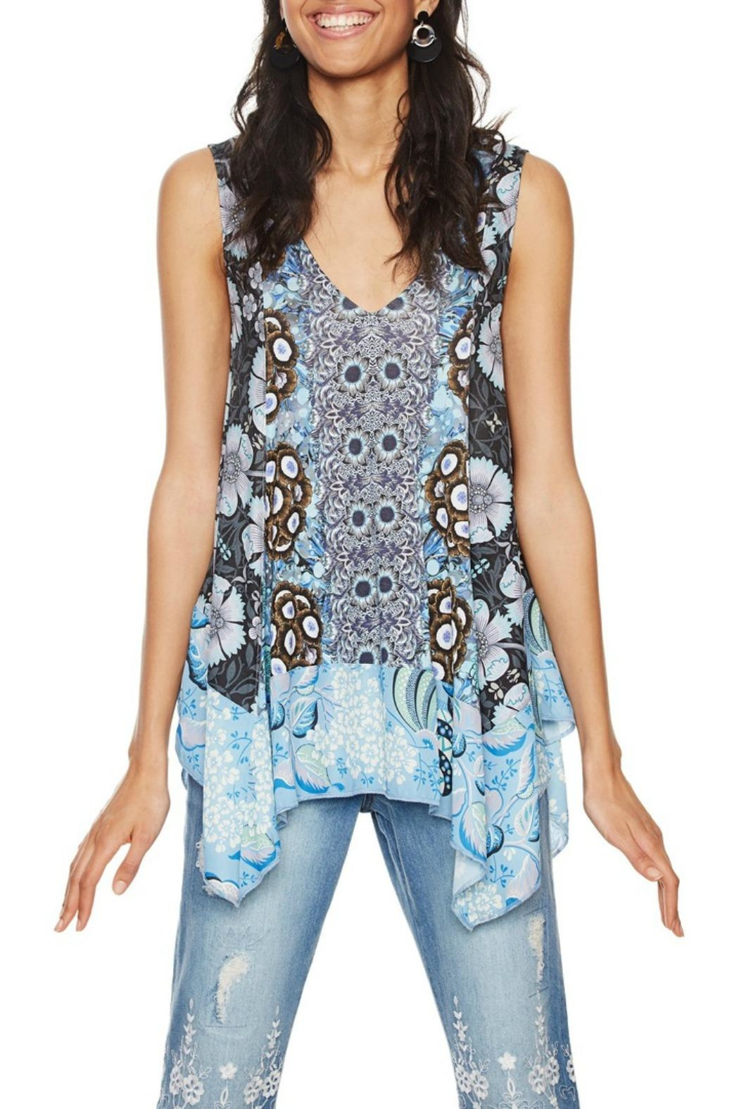 DESIGUAL Aeryn Sleeveless Tunic - Main Image