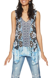 DESIGUAL Aeryn Sleeveless Tunic - Front cropped