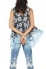 DESIGUAL Aeryn Sleeveless Tunic - Front full body