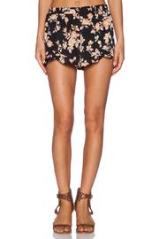Jack Floral Ruffle Shorts - Front cropped