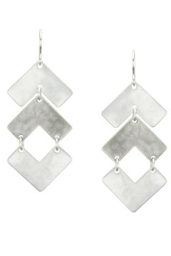 Marjorie Baer Silver Plated Earrings - Product List Image