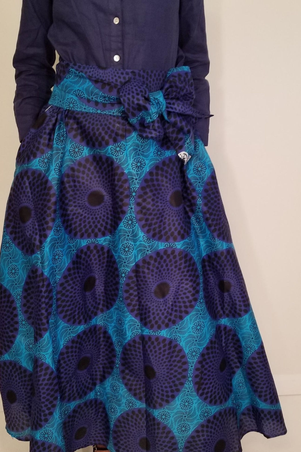 Occasions By Diane African Print Skirt - Main Image