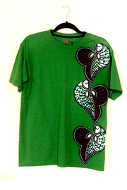 Hanes African Print T-Shirt - Product Mini Image