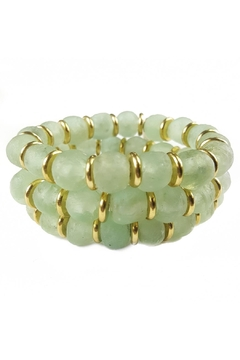 Fabulina Designs African Sea Glass Bracelets - Product List Image