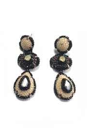 Lets Accessorize African Tear-Drop Earrings - Product Mini Image