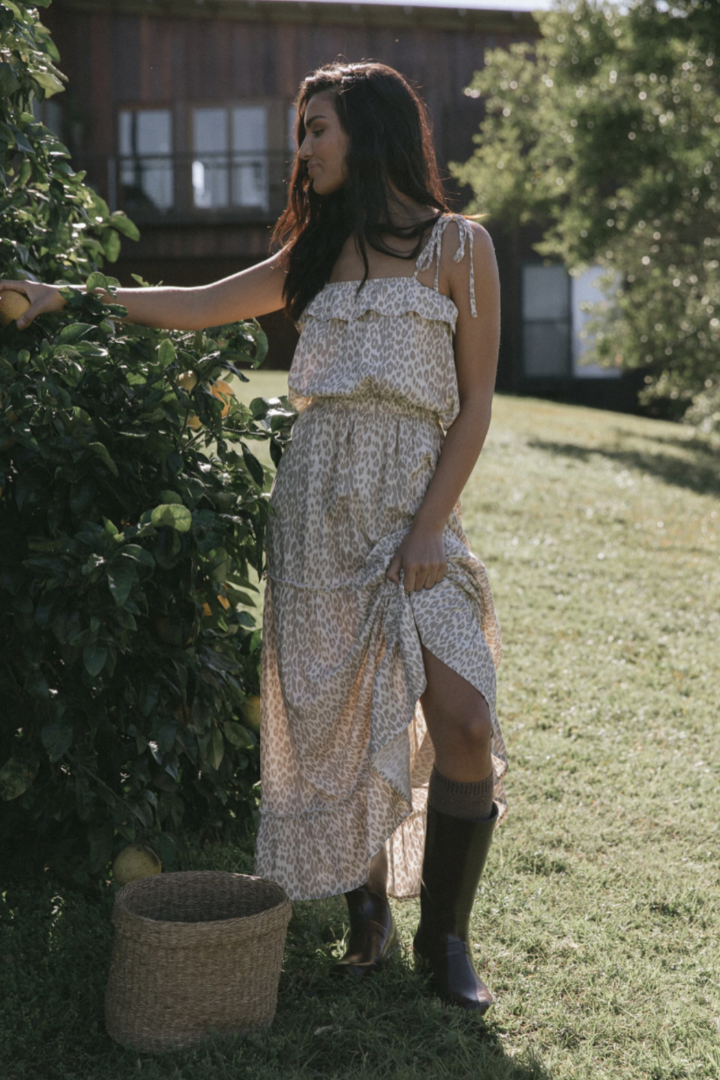 Girl in the Sun After Dawn Maxi Dress - Main Image