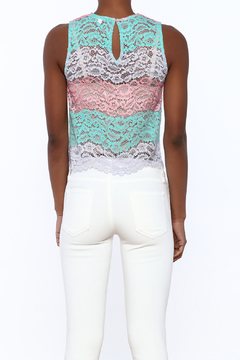 After Market Colorful Lace Top - Alternate List Image